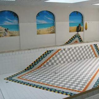 Raumgestaltung: Bad Gastein Schwimmbadgestaltung
