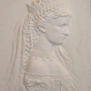 """Typisch-bayerisch: """"Relief Sisi, Kaiserin Elisabeth"""""""