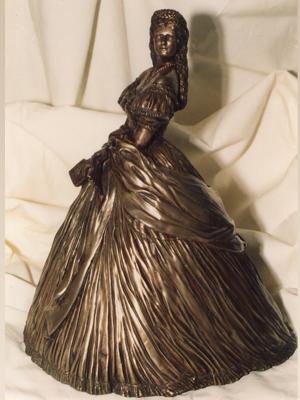 Skulptur-Bronze-Kaiserin Elisabeth
