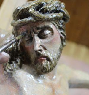 Jesus Restauriert