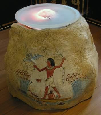 Sonnenstudio Gesamtgestaltung Ägypten Illusionsmalerei