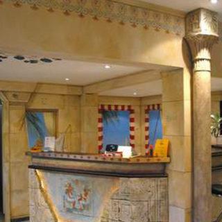 Raumgestaltung: Gestaltung eines Sonnenstudios – Ägyptische Wandmalerei