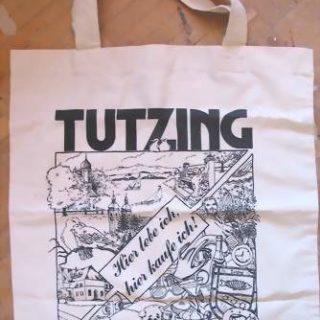 Tasche mit einer Illustration
