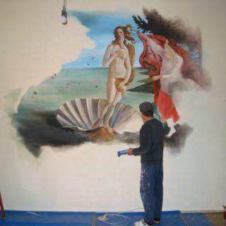 Die Venus von Botticelli