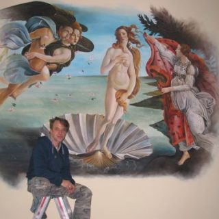 Raumgestaltung: Die Venus von Botticelli