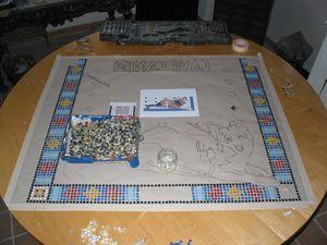Wie ein Mosaik entsteht