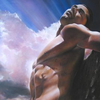 """Akt: Männerakt """"Jesus"""""""