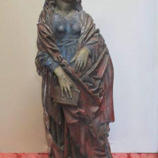 """Religion: Skulptur """"Gotische Madonna"""""""
