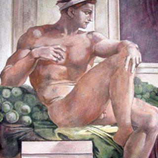 "Michelangelo: ""Ignudi"""