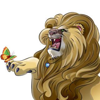 """Tiere-digital: """"Der Löwe"""""""