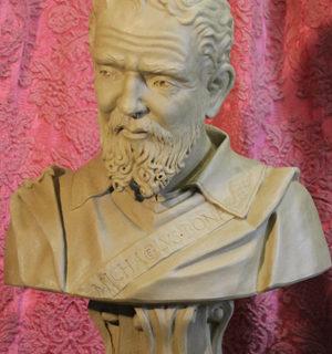 """Persoenlichkeiten: Büste """"Michelangelo"""""""