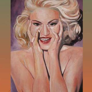 """Kultstars: Gemälde """"Madonna"""""""