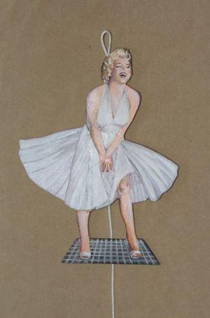 Marilyn Monroe Hampelmann