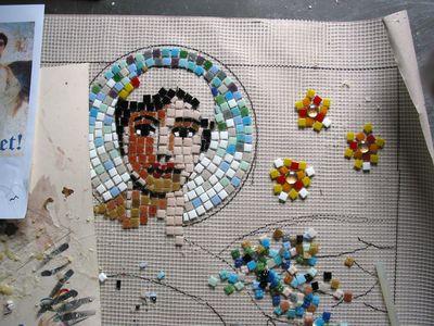 Mosaik Engel