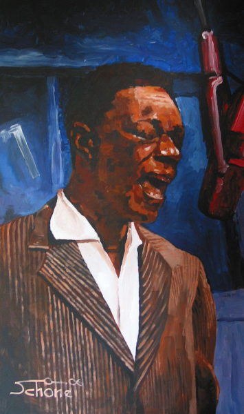 "Gemälde ""Nat King Cole"""
