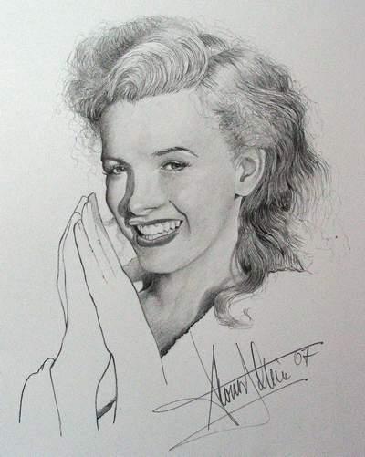 Marilyn Monroe Bleistift