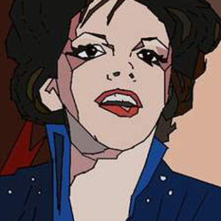 "Portraits-digital: ""Judy Garland"""