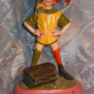"Persoenlichkeiten: Skulptur ""Pippi Langstrumpf"""