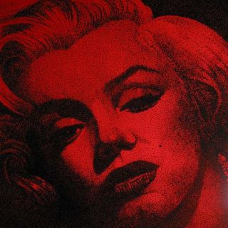 "Kultstars: Gemälde ""Marilyn in red"""