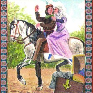 Ritter und Jungfrau
