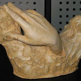 Die Schöpfung Gottes Hand modelliert