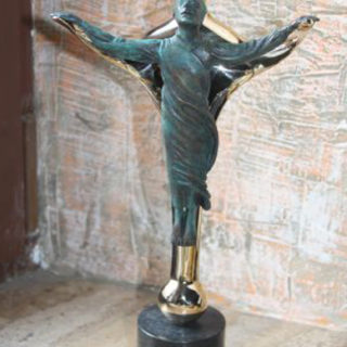 """Esoterik: Skulptur """"Ein Licht aus Liebe, kleine Version"""""""