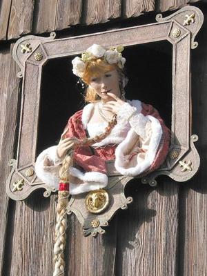 Rapunzel lebensgroße Puppe