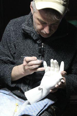 Hand jesu kunst skulpturen raumgestaltung kunstmalerei for Raumgestaltung unikat