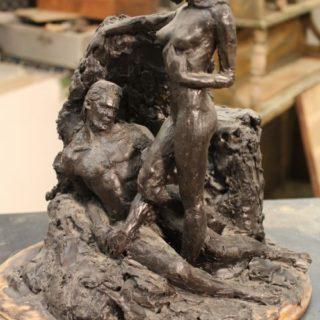 Ideen-fuer-neue-skulpturen: Skulptur Adam und Eva