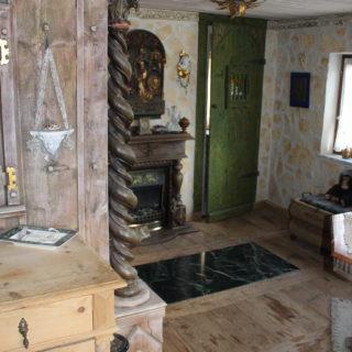 Schlafzimmer im Stil des Mittelalters