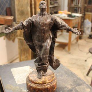 "Ideen-fuer-neue-skulpturen: Skulptur ""Hingabe"""