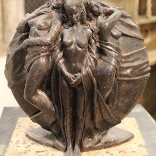 Ideen-fuer-neue-skulpturen: Skulptur Odysseus und die Sirenen