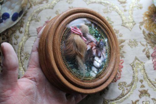 Reliquie Hundehaare