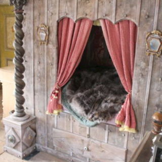 Schlafzimmer im Mittelalter
