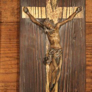 """Religion: Skulptur """"Jesus aus Schwemmholz"""""""