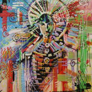 """Modernart: Gemälde """"Madonna"""""""