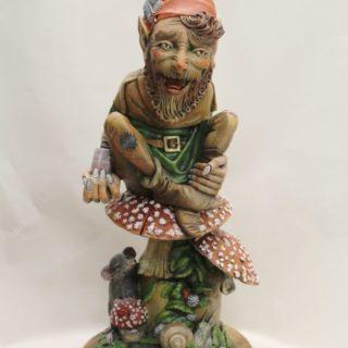 """Sonstige-skulpturen: Skulptur """"Giftzwerg"""""""