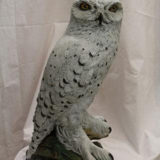"""Tierskulpturen: Skulptur """"Schneeeule"""""""