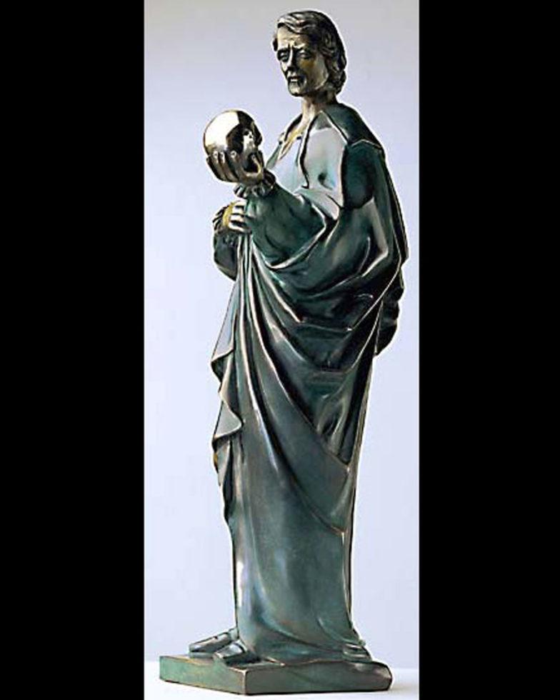 Skulptur Hamlet Bronze