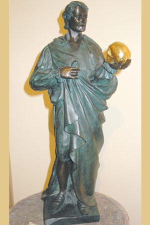 Skulptur Hamlet Kunstbronze