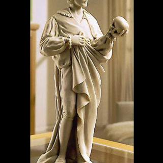 Skulptur Hamlet Kunstmarmor