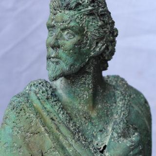 """Typisch-bayerisch: Skulptur """"König Ludwig II von Bayern"""""""