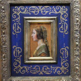 "Exklusives: ""la bella principessa"" nach Leonardo da Vinci"