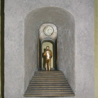 """Religion: Skulptur """"Das Himmelstor"""""""
