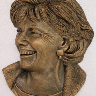 """Sonstige-skulpturen: Skulptur """"Portrait-Relief"""""""